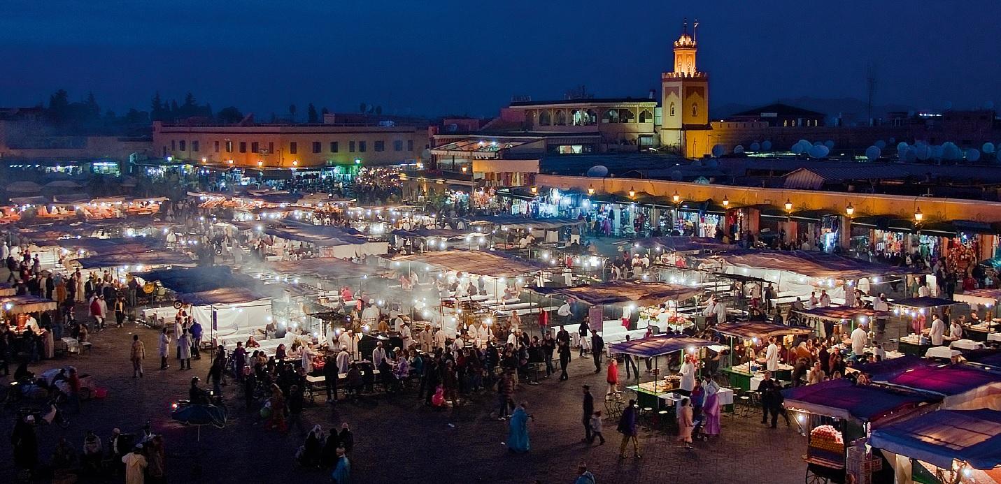 مراكش  و روعه السياحه بالمغرب